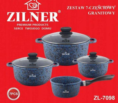 Marmuro dangos puodų rinkinys Zilner 5 vnt 7008