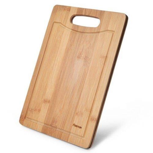 Fissman bambukinė pjaustymo lentelė, 28x18x1,4 cm F-8769
