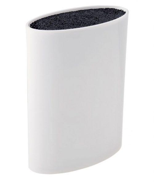 MAYER&BOCH peilių stovas, elepsės formos 21,8cm baltas 29646