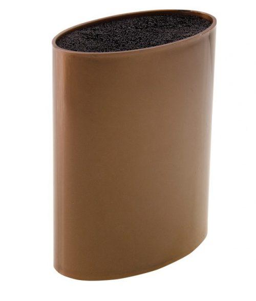 MAYER&BOCH peilių stovas, elipsės formos 21,8cm rudas 29649
