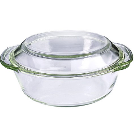 MAYER&BOCH stiklinė kepimo forma su dangčiu 1,5l 29699