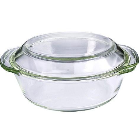 MAYER&BOCH stiklinė kepimo forma su dangčiu 1l 29698